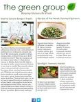 Health Conscious, Fresh, Organic